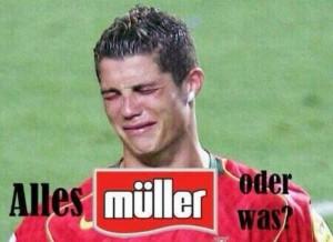 Christiano Ronaldo Null - Mueller Vier