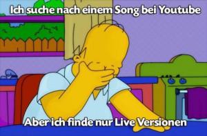 Homer ist verzweifelt