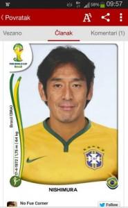 Twitter News Japanischer Schiri wird Brasilianer
