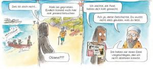 Bin Laden ist jetzt auch auf  Jamaika