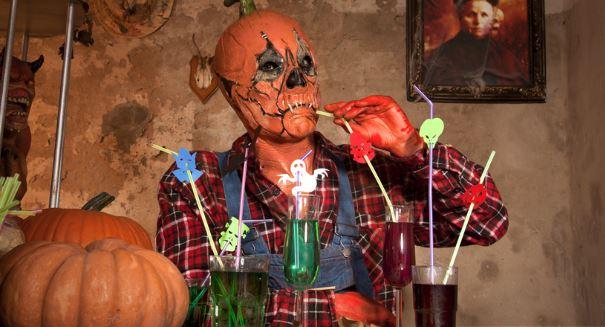 Perfekter Barkeeper Style fuer Halloween