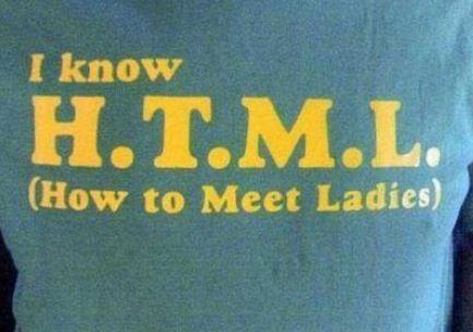 Das bedeutet HTML!