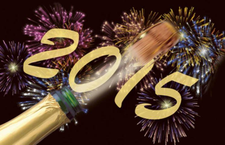 Wir wuenschen ein witziges neues Jahr