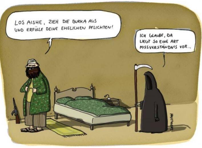 Der Tod traegt Burka