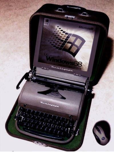 Upgrade 6.0 Schreibmaschine mit TFT Bildschirm