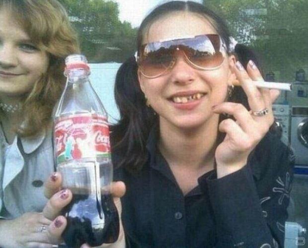 Beweis Cola ist wirklich nicht gut für die Zaehne