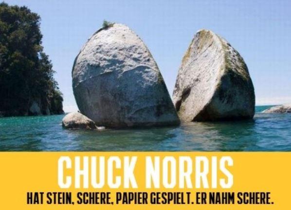 Chuck Norris wie wir ihn kennen